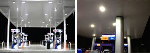 led canopy project